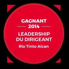 Gagnant 2014 - Leadership du dirigeant