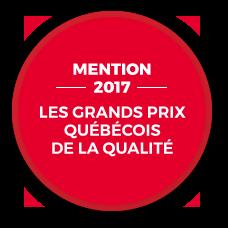 Les grands prix Québécois 2017 - Mention